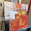 Thumbnail: Paysage en orange... VII | 30x30cm