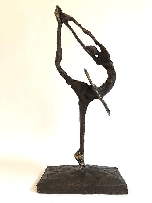 La danseuse de ballet dorée... | 41cm