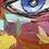 Thumbnail: ELVIRA | Portrait 019 | 100x100cm