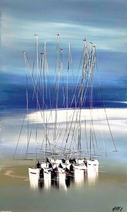 Ensemble..., 100x60cm