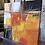Thumbnail: Paysage en orange... VIII | 30x30cm