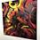 Thumbnail: La foule... | 100x100cm