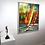 Thumbnail: Sous une pluie de couleurs... | 120x100cm