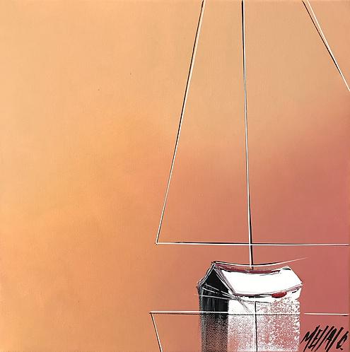 En solitaire... | 30x30cm
