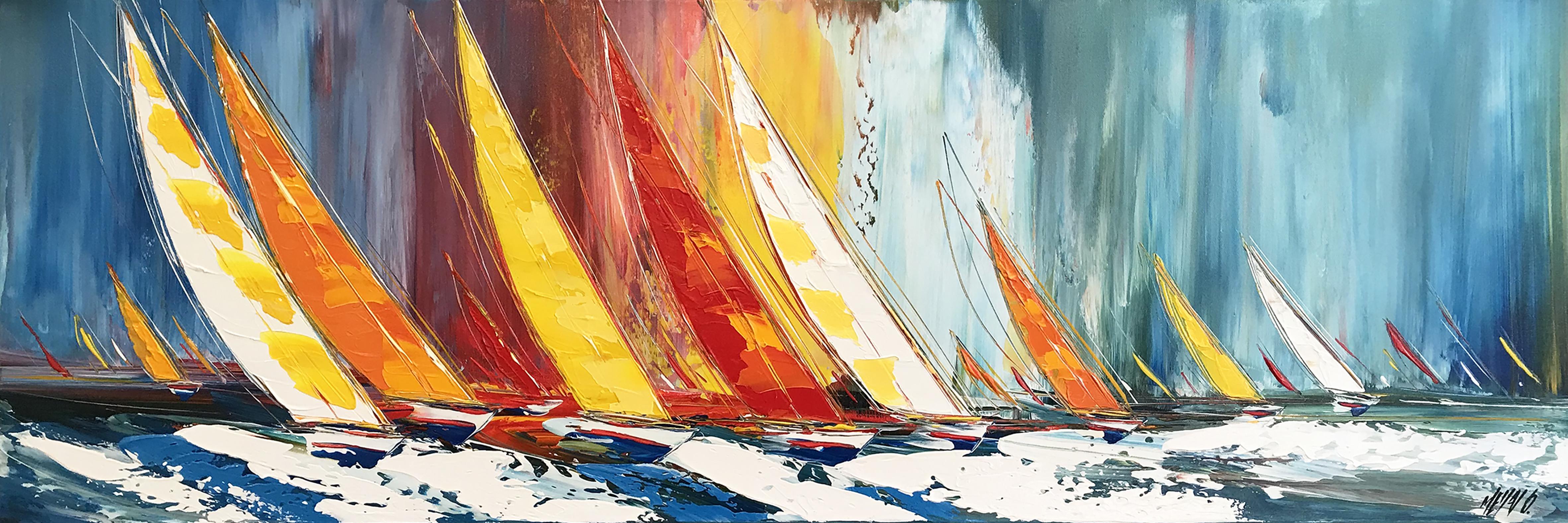 Horizon de liberté... II | 40x120cm