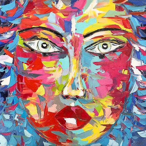 ZORA | Portrait 013 | 100x100cm