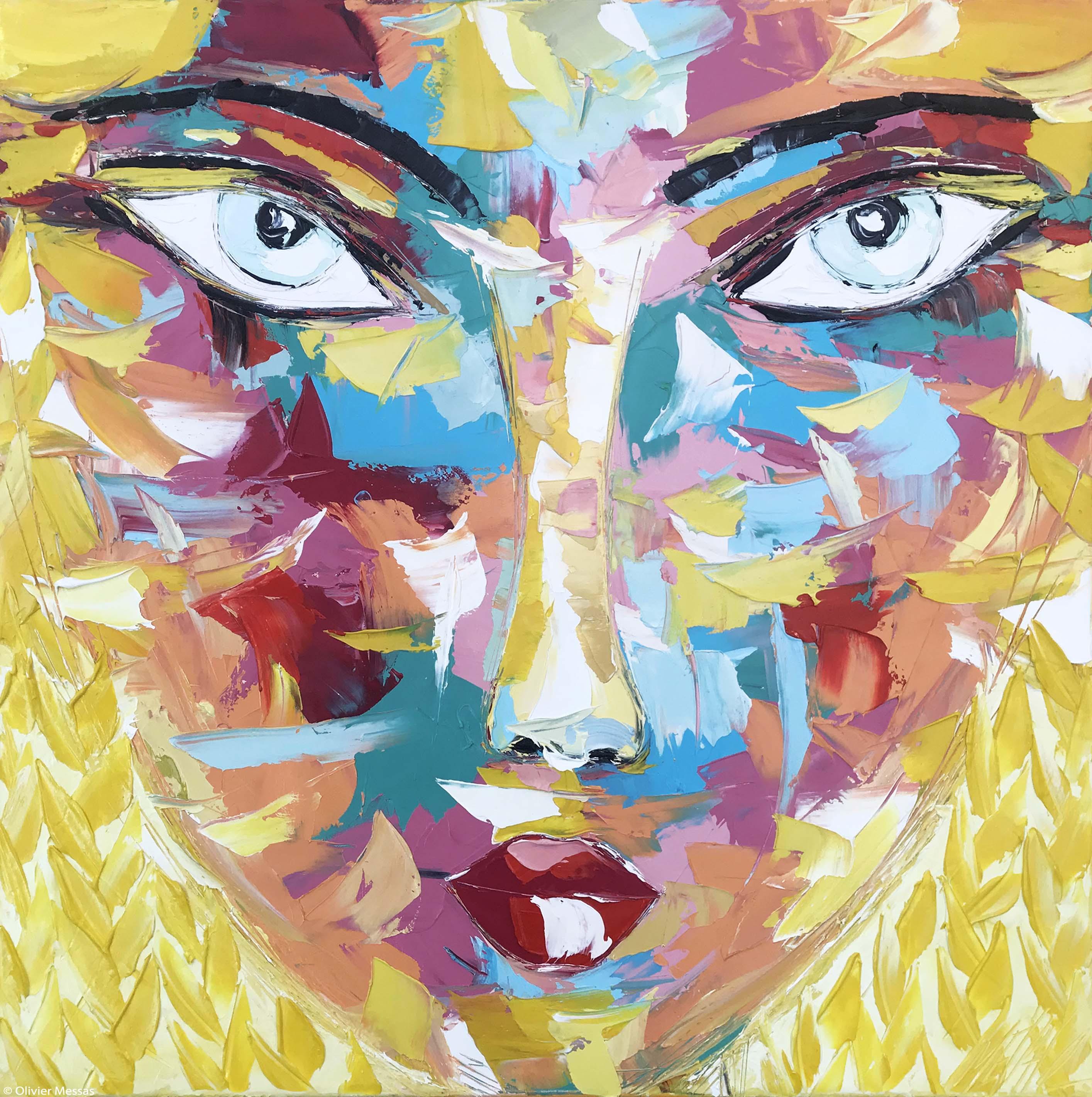 VAL   Portrait 21   80x80cm (2020)
