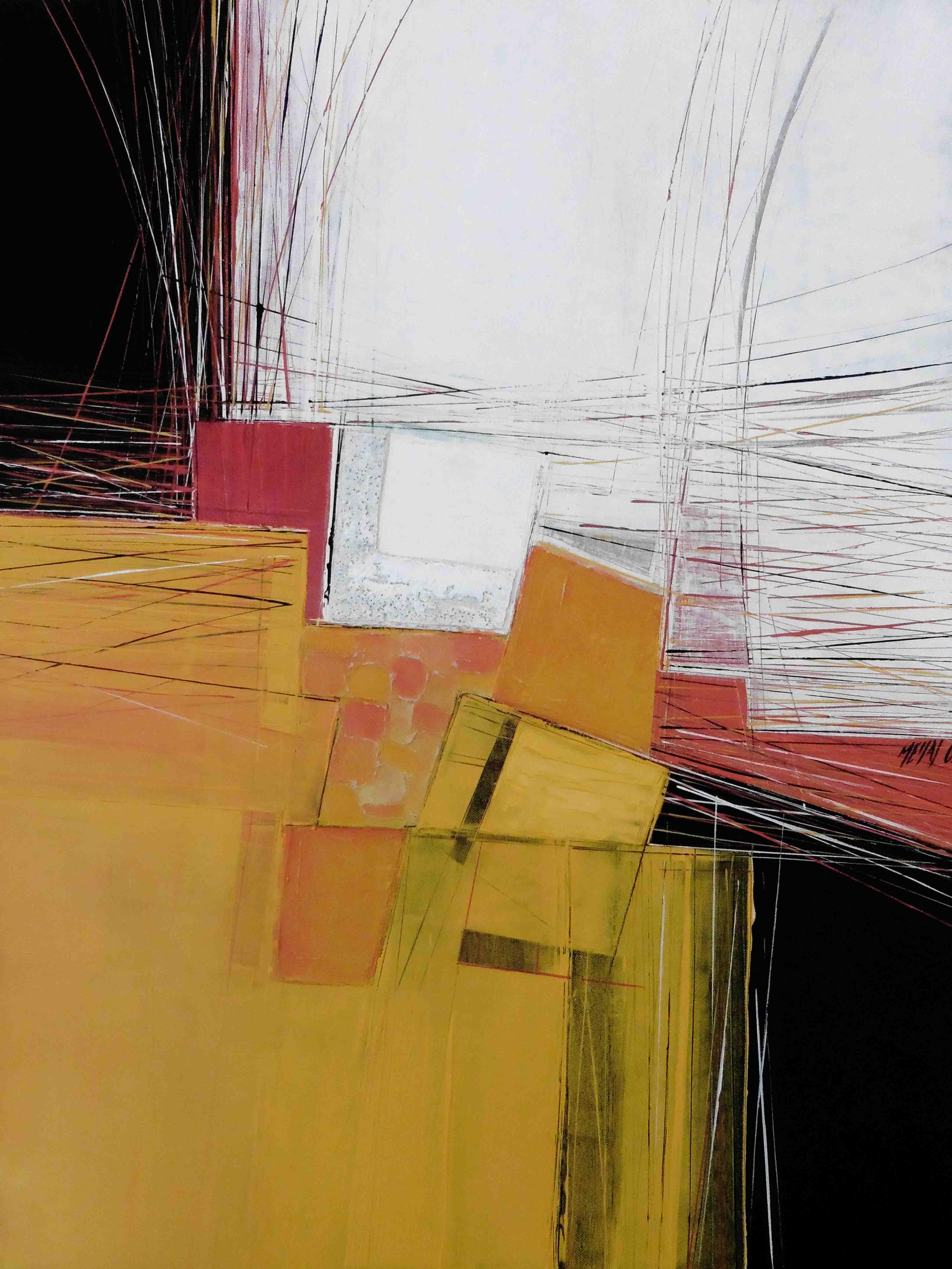 Paysage de lumière III, 80x60cm