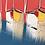 Thumbnail: Bonheur en mer... | 80x180cm