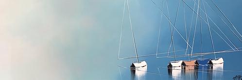 Un nouvel horizon... | 40x120cm