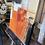 Thumbnail: Paysage en orange... IV   30x30cm