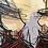 Thumbnail: Les 2  Geishas... | 80x80cm