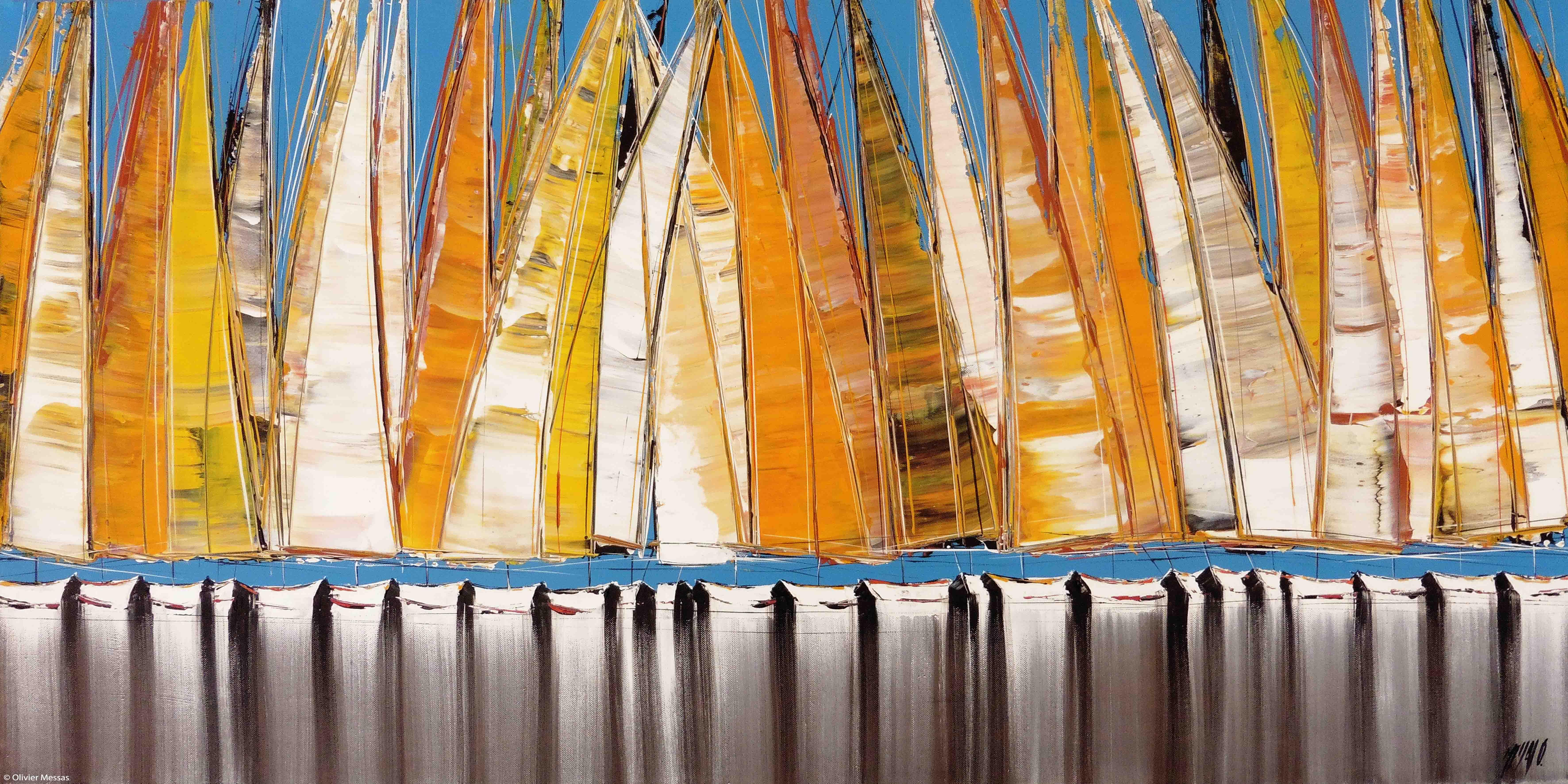 Parade III, 60x120cm
