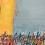 Thumbnail: Ode à la joie... | 120x120cm