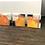 Thumbnail: Paysage en orange... | 30x30cm