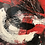 Thumbnail: Coup de foudre... | 60x60cm
