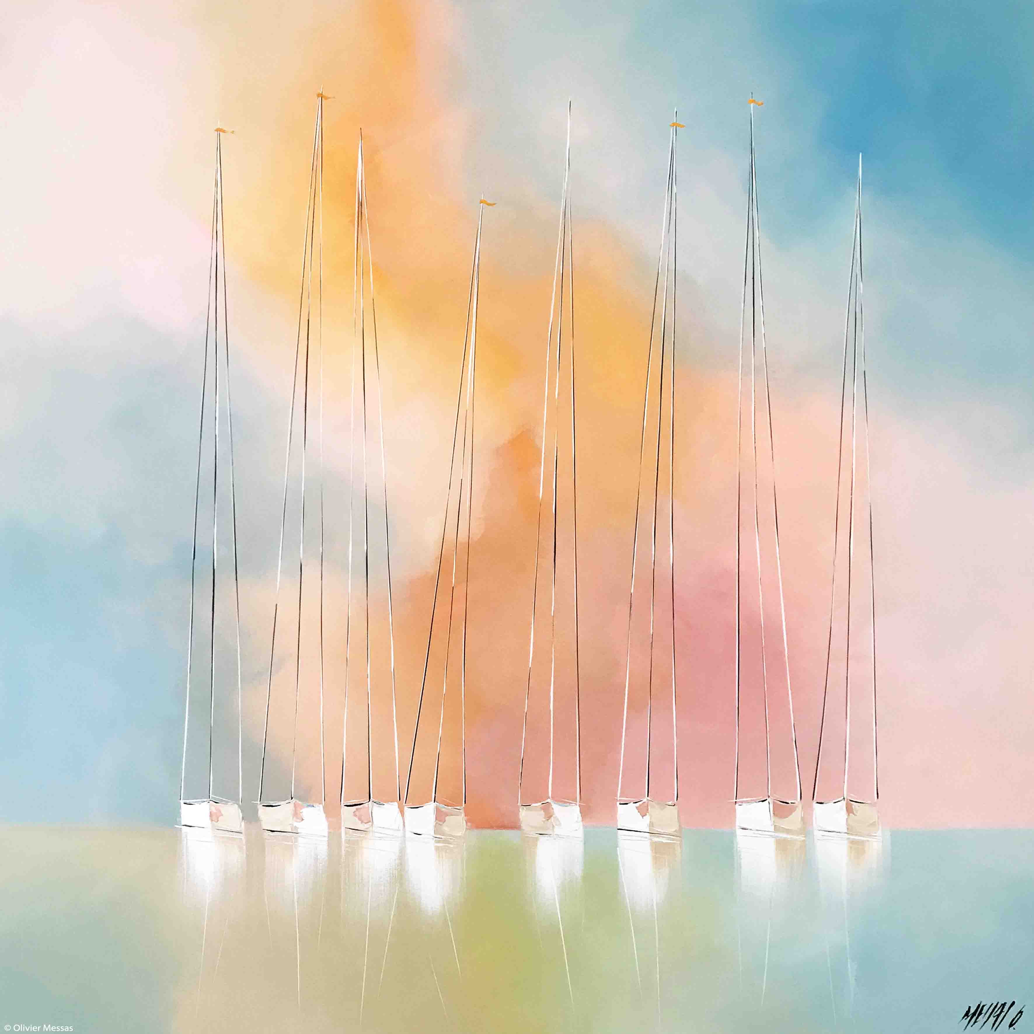 Harmonie..., 100x100cm