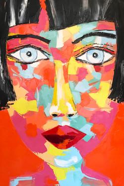 """ANASTASIA """"portrait 029""""   120x80x5cm"""