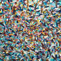 Un grain de folie... | 80x80cm