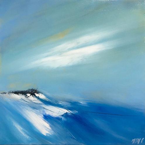 Entre ciel et mer... | 50x50cm