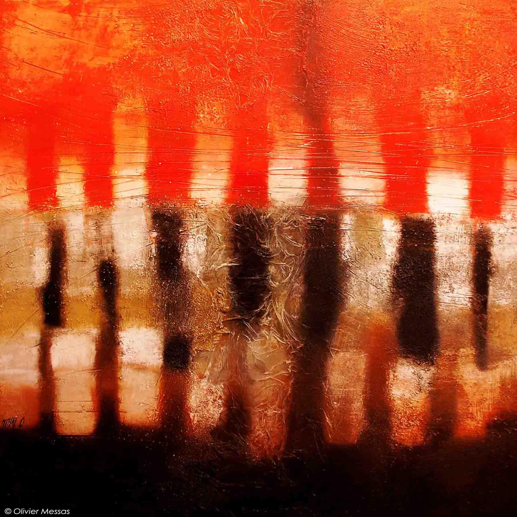 Incandescence - 100cm x 100cm