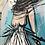 Thumbnail: La fille du bord de mer... | 80x40cm