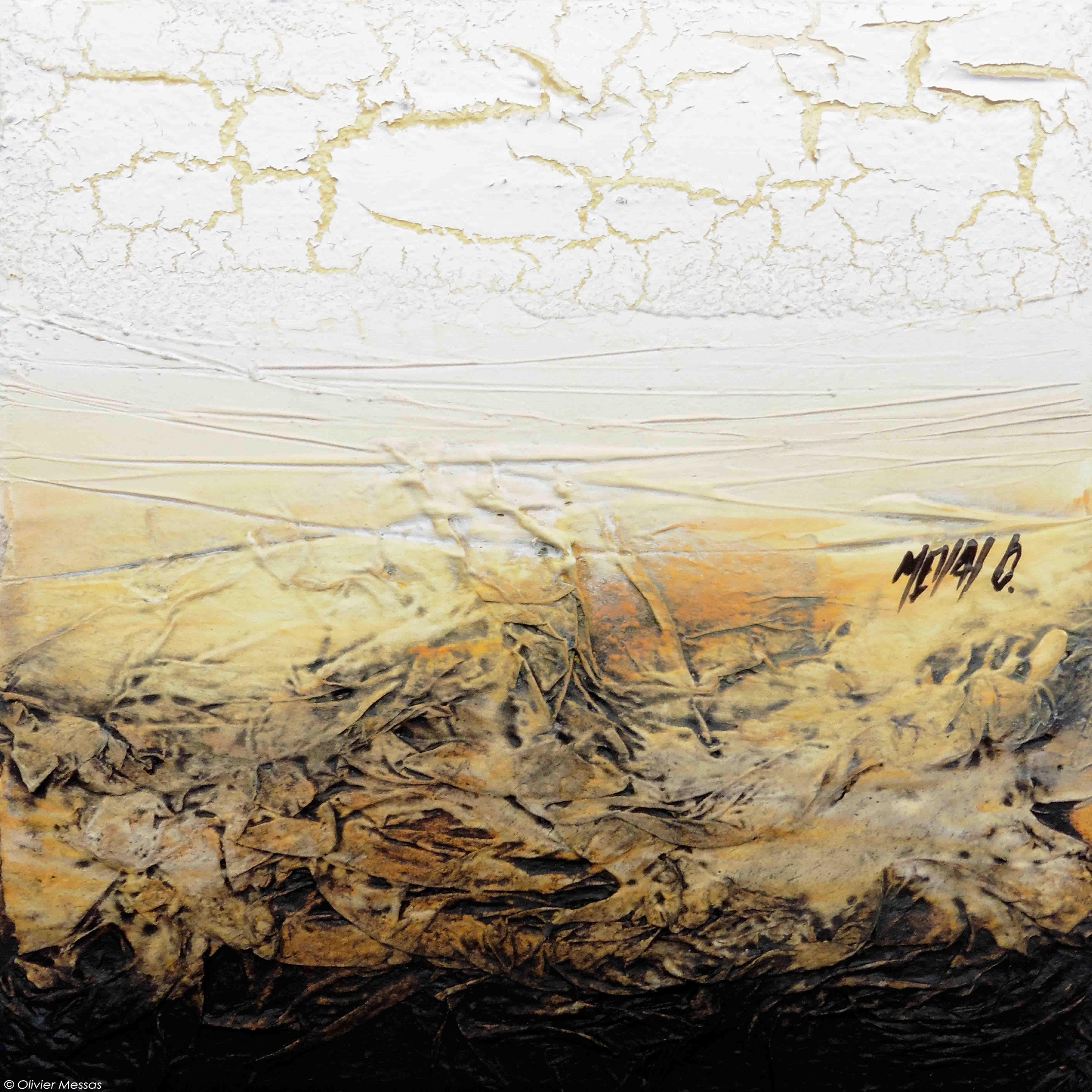 Horizon de lumière IV, 20x20cm