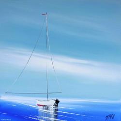 Mon beau bateau, 40/40cm