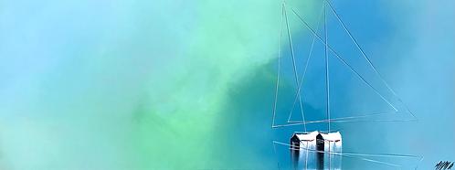 Douceur en mer... | 50x130cm