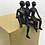 Thumbnail: Les 3 frères... 5/8  (version jaune) | 22x15x16cm