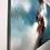 Thumbnail: La tête dans les nuages...   100x170cm