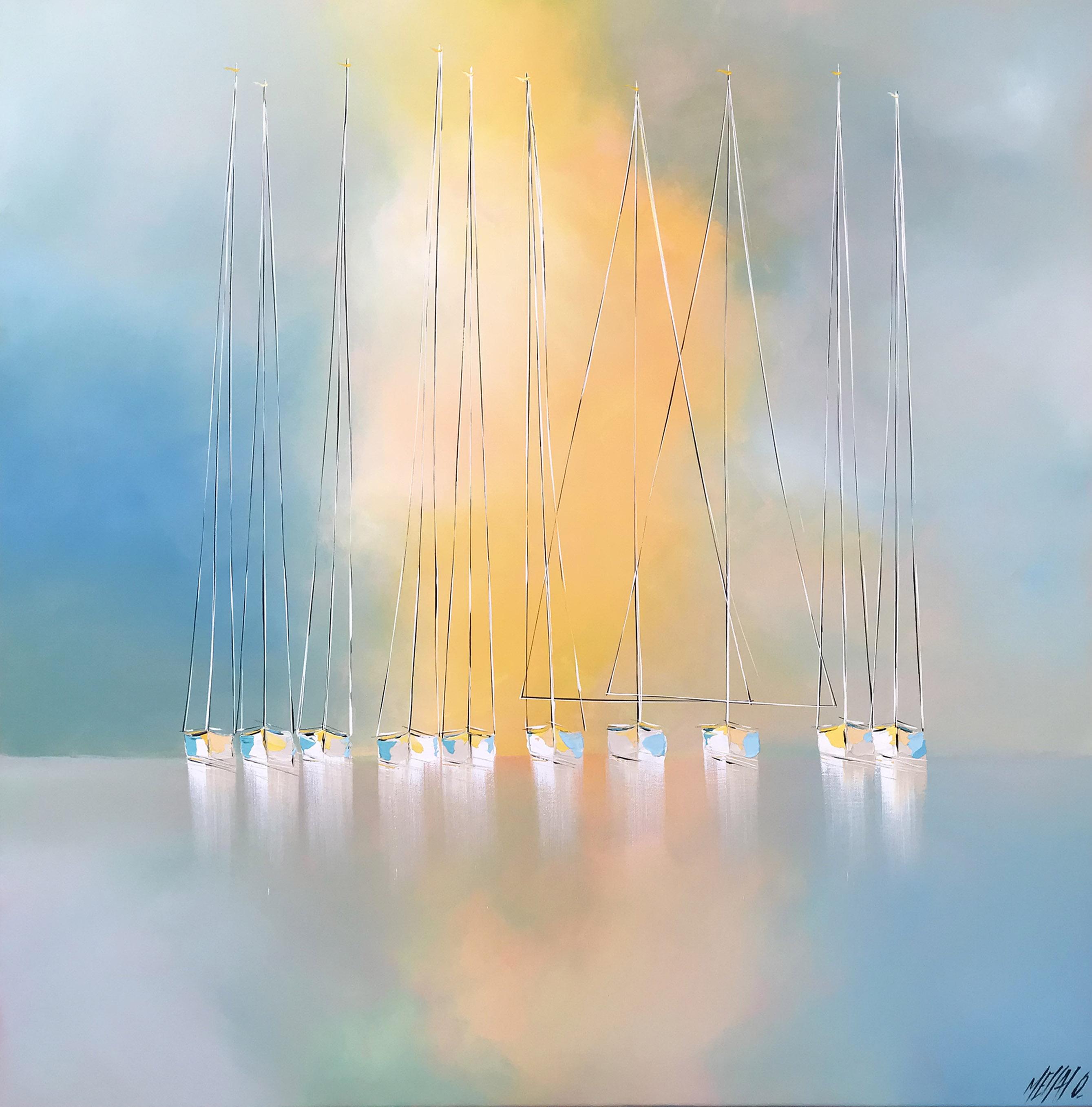 Lumière et liberté en mer   120x120