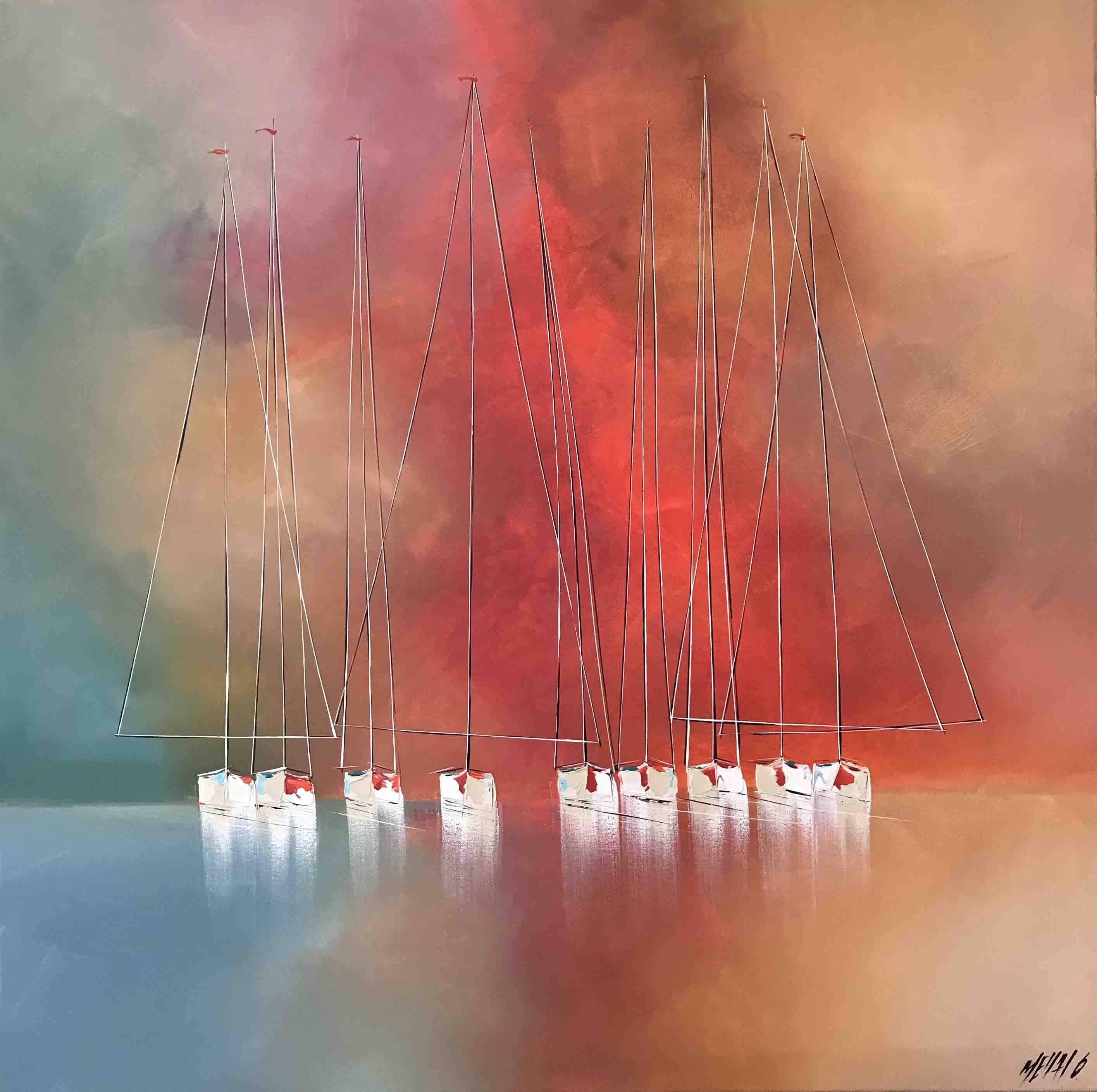 Les couleurs du bonheurs..., 100x100