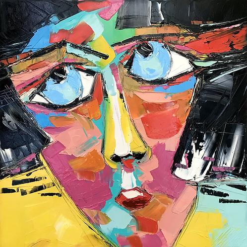 OMG! | Portrait 027 | 50x50cm