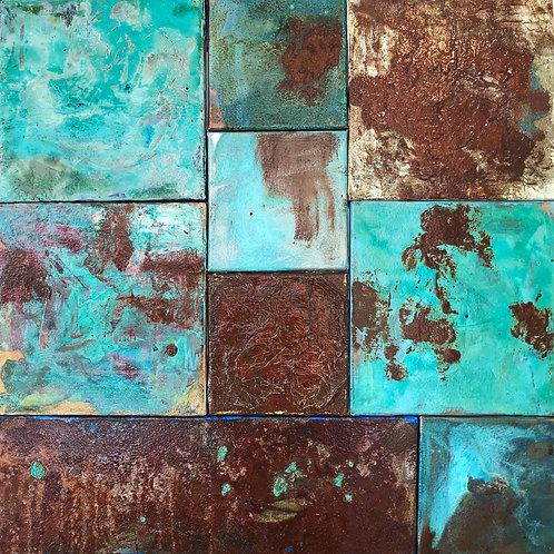 Composition 002... | 80x80cm
