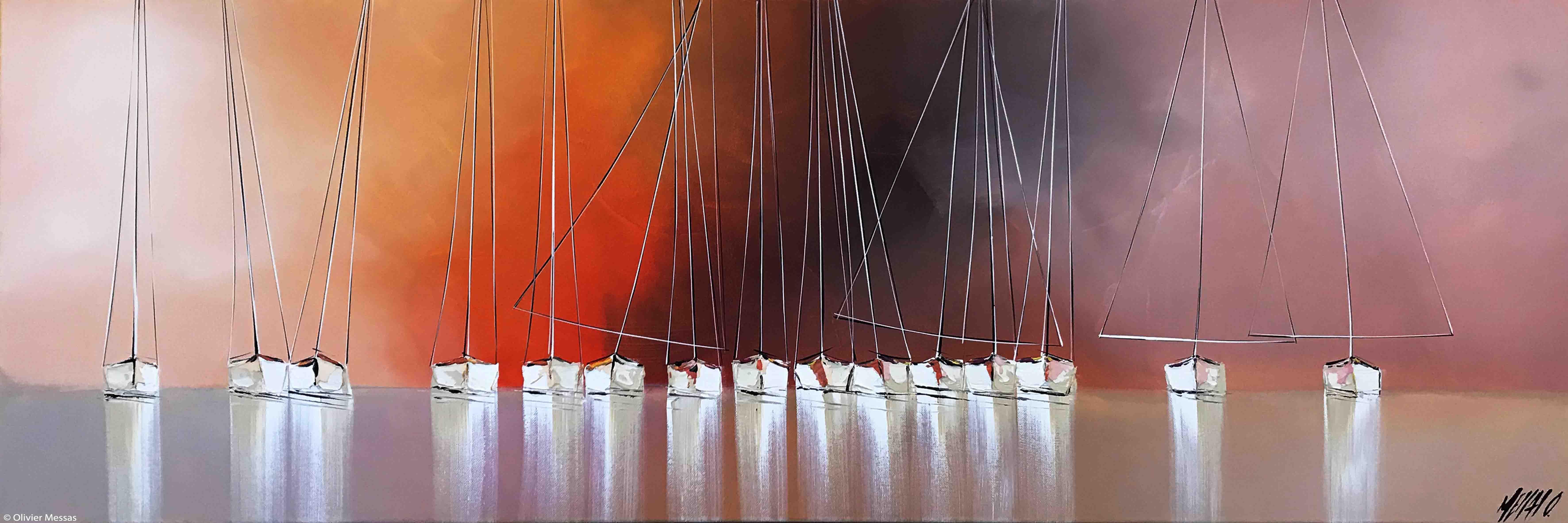 La vie en rose...,  40x120cm