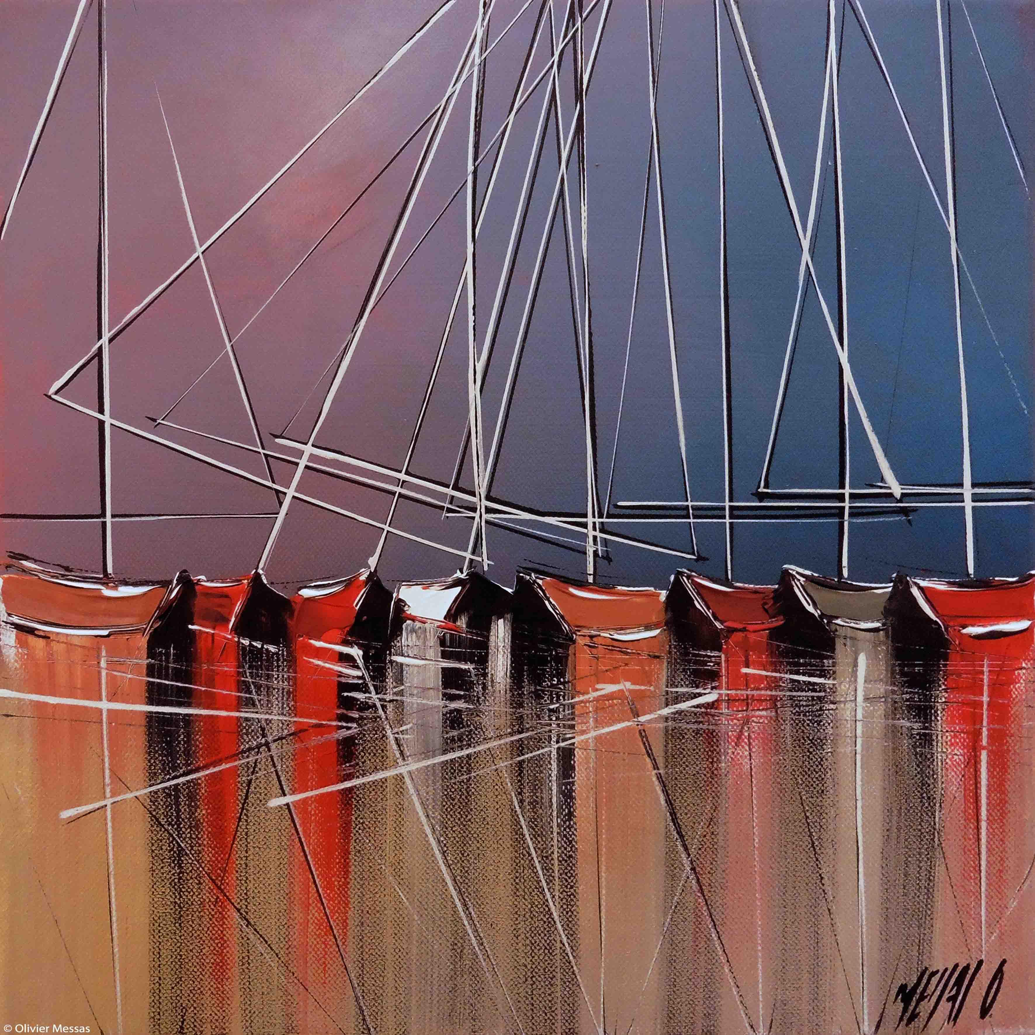 Jeux de reflet III, 30x30cm