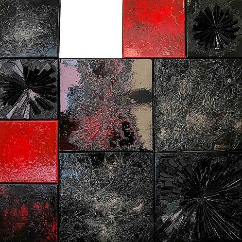Composition 003...   80x80cm