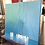 Thumbnail: Les reflets bleus... | 40x40cm