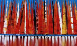 Les voiles de Saint-Tropez, 89x146cm