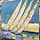 Thumbnail: Ciel bleu... | 60x60cm