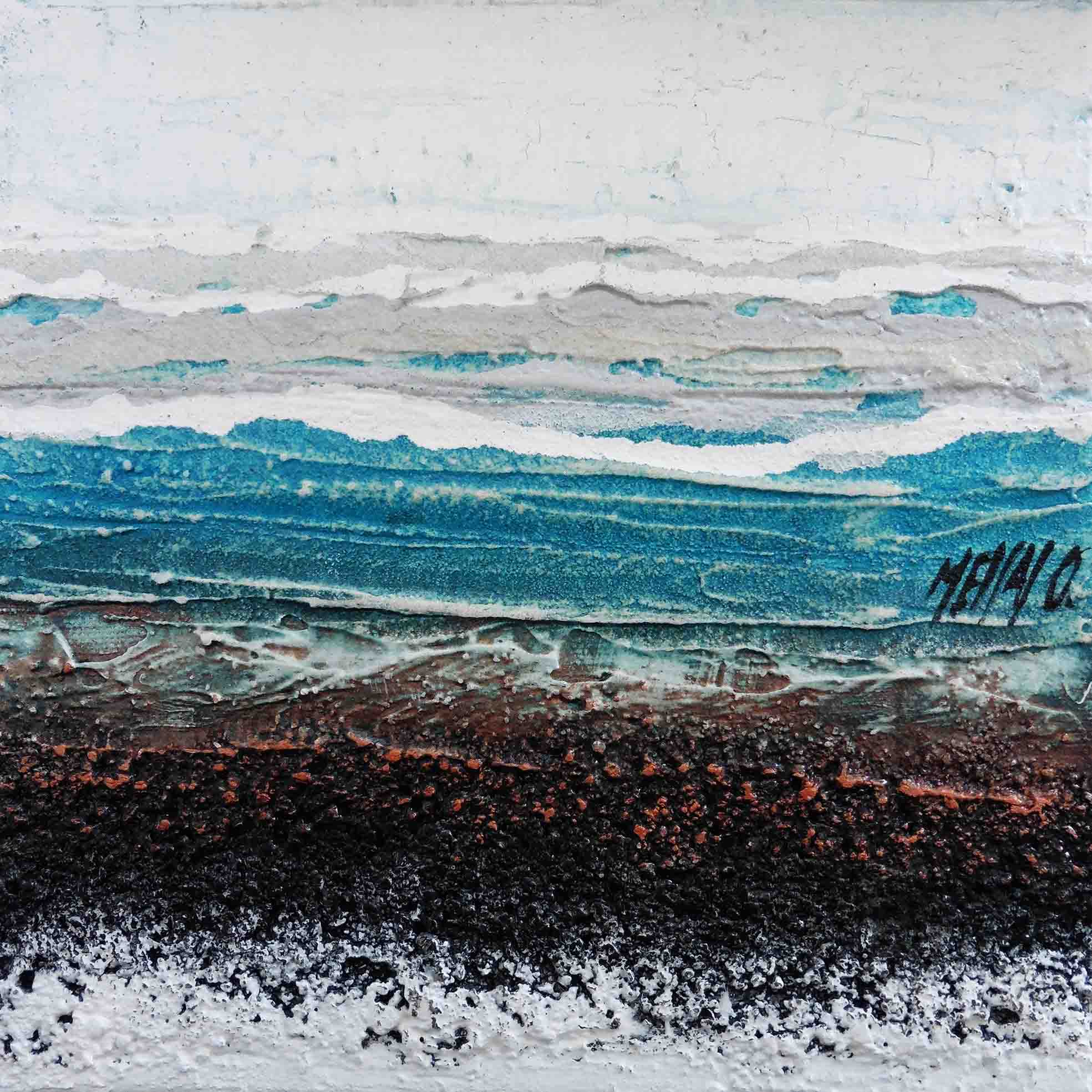 Atmosphère en bleu II, 20/20cm