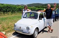 Avec une flotte de Fiat 500 de collection, vos collaborateurs auront le plaisir de découvrir en manière alternative la Toscane. A bord de vos bolides vous formerez un convoi exceptionnel à travers la Toscane rurale.