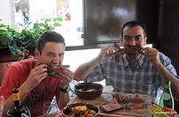 Pour les amateurs de viande, nous proposons un dîner dégustation de viande typique de la région pour tous vos collaborateurs!