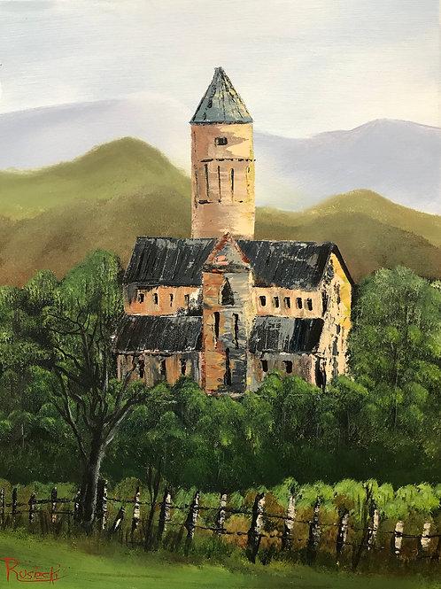 Vineyard at Alaverdi Cathedral