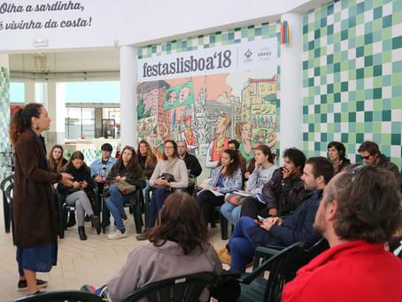 Terceiro dia do #ArtZero em Lisboa