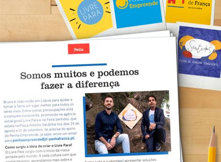 Livre Para na Revista Penha