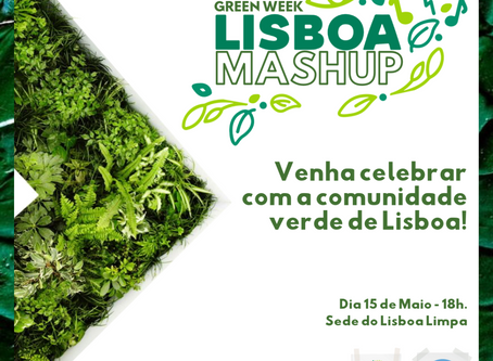 Convite para o Green Week Lisboa Mashup!