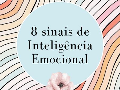 Livre Para refletir: 8 sinais de Inteligência Emocional