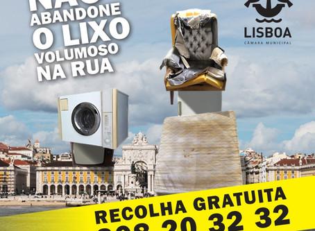 Vamos deixar Lisboa sempre limpa?